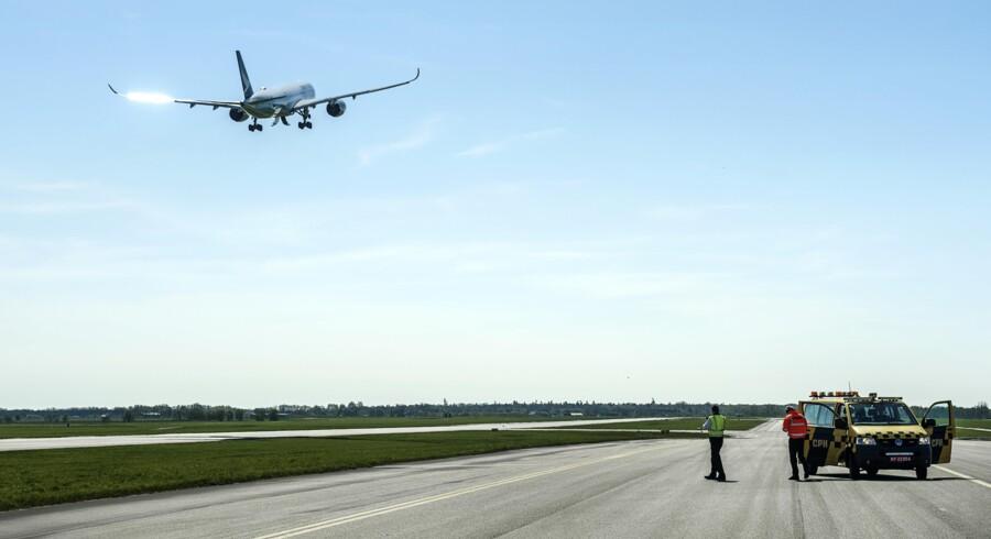 I efterårsferien kan man komme på rundvisning i Københavns Lufthavn. Foto: Niels Ahlmann Olesen