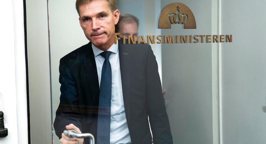 DF-formand Kristian Thulesen Dahl var tidligere på ugen til det første officielle møde i Finansministeriet om næste års finanslov. Han kritiserer nu regeringen for ikke at give svar på, præcis hvordan klimaplanen skal finansieres.