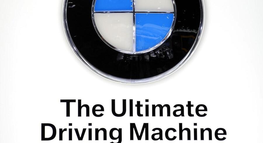 Arkivfoto. BMWs tidligere slogan.