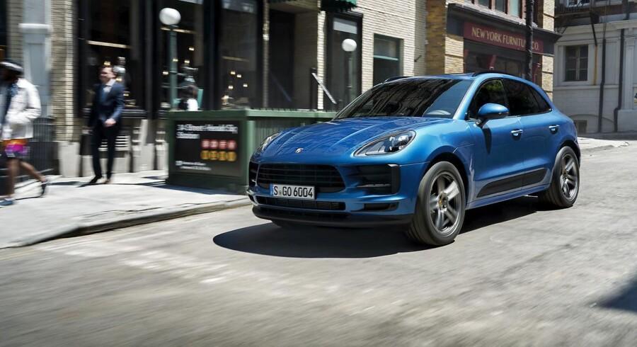 En faceliftet udgave af SUV'en Macan blev introduceret for nylig, og den fås kun med benzinmotorer