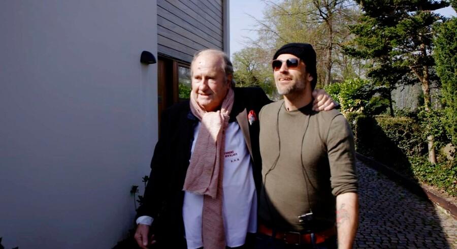Erik Brandt og Oliver Bjerrehuus er to af de bærende karakterer i dokumentaren »Sidste omgang i Whiskybælktet«. Foto: DR