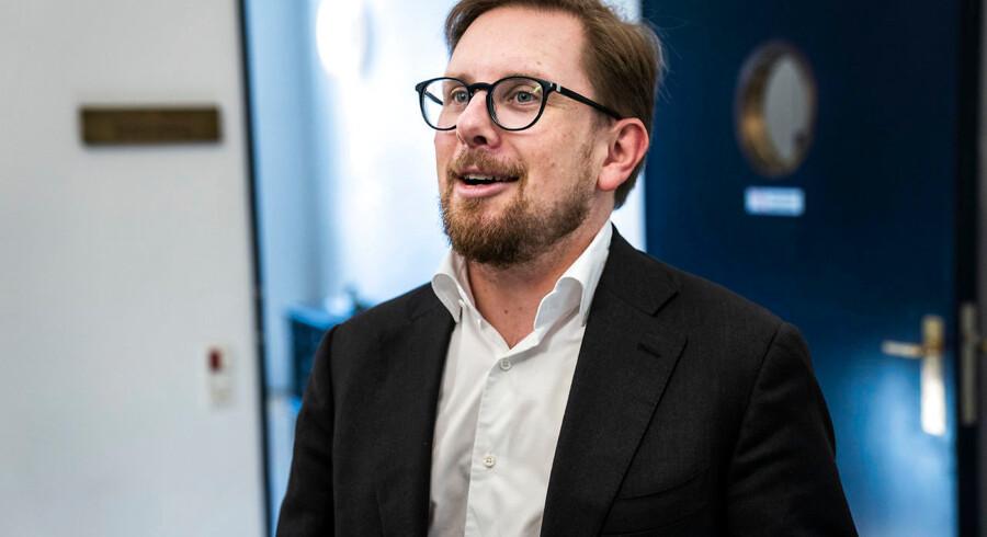 Indenrigsminister Simon Emil Ammitzbøll-Bille (LA) (foto: Martin Sylvest/Scanpix Ritzau Scanpix 2018)