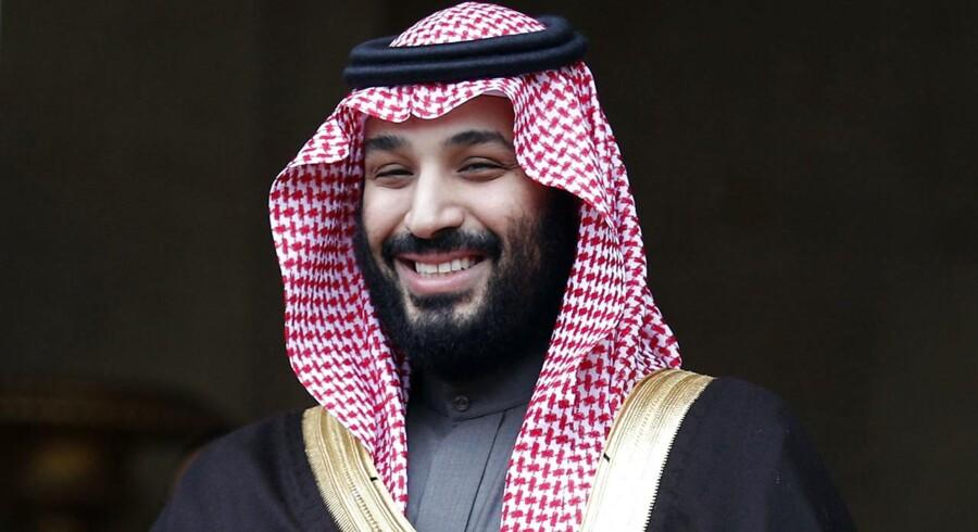 Den saudiarabiske kronprins Mohammed bin Salman er også kendt under forkortelsen MbS.