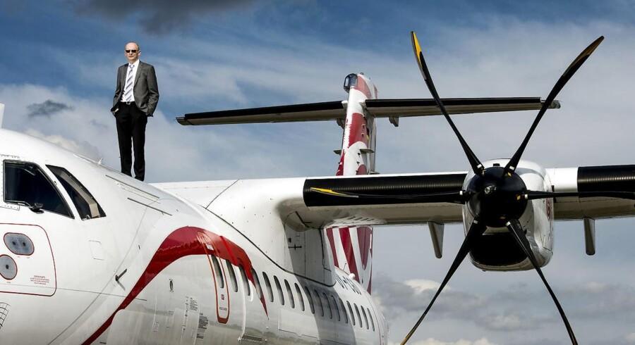 Martin Møller, grundlæggeren af Nordic Aviation Capital, sælger ud af sit livsværk, der har verdens største flåde af mindre regionalfly.