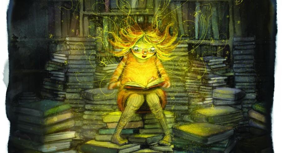 Anna på næsten 10 sætter sig i »Pigen som ville redde bøgerne« for at låne og læse alle de af bibliotekets bøger, som ikke bliver lånt og derfor er i fare for makulering. »En helt igennem dejlig bog, der nok skal få børn – og voksne – til at reflektere over bogen som medie, men som først og fremmest er en skøn historie,« skriver Berlingskes anmelder.