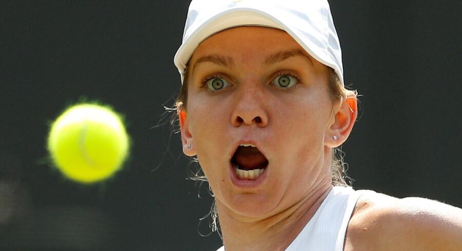 Simona Halep er tvivlsom deltager i WTA Finals. Peter Nicholls/Reuters