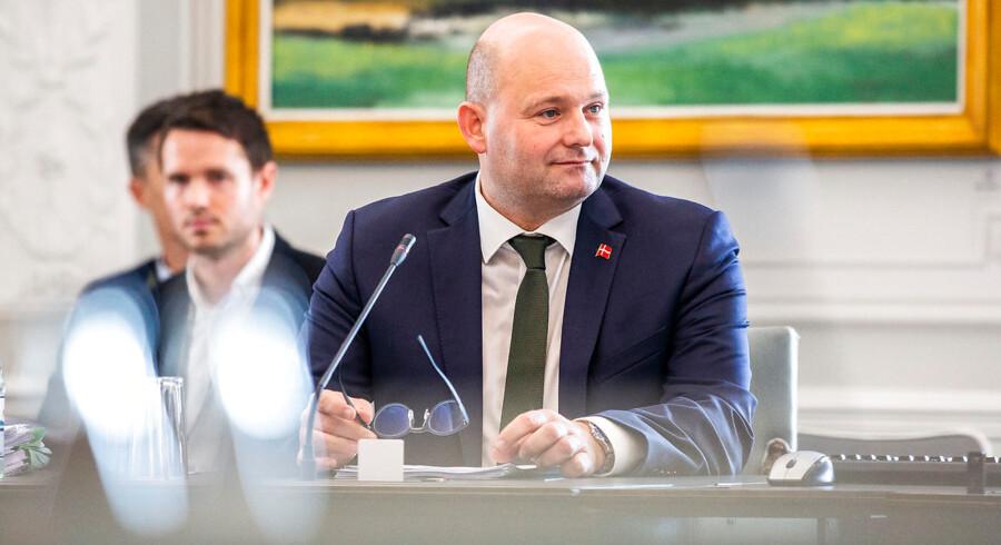 Justitsminister Søren Pape Poulsen (K). (Foto: Ólafur Steinar Gestsson/Ritzau Scanpix)