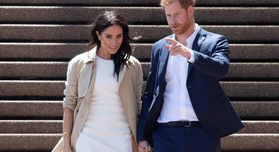 Hertuginde Meghan og prins Harry giftede sig i maj. Parret forlovede sig i november 2017 efter at have mødt hinanden på en blind date i sommeren 2016. Pool/Reuters