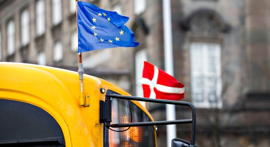 Danske borgere er trods vores fire forbehold blandt de mest unionsloyale i Europa, fremgår det af ny måling fra Eurobarometer.