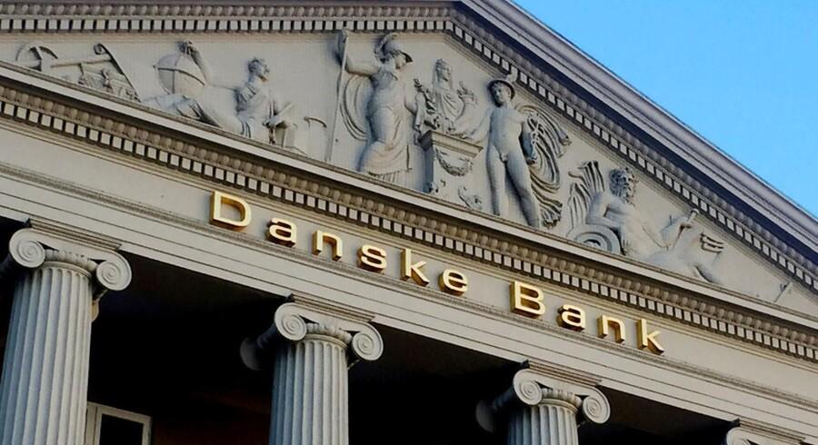 Danske Bank har genvundet administrationen af de statslige betalinger. Det kunne ikke undgås, sagde Sophie Løhde, for der var ikke andre, der bød på opgaven. Foto: Jacob Gronholt-Pedersen/Ritzau Scanpix