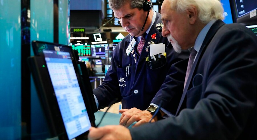 NEW YORK, NY - OCTOBER 16: Traders work on the floor of the New York Stock Exchange (NYSE) on October 16, 2018 in New York City. After ending lower four out of the previous five trading sessions, the Dow Jones industrial average rallied 2.17%, 0r nearly 550 points. Spencer Platt/Getty Images/AFP == FOR NEWSPAPERS, INTERNET, TELCOS & TELEVISION USE ONLY ==