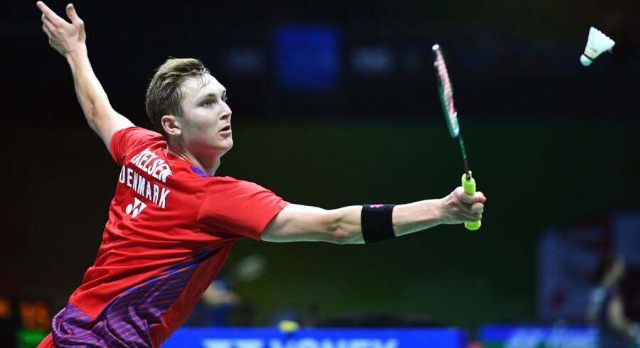 Viktor Axelsen er nummer tre på verdensranglisten. Johannes Eisele/Ritzau Scanpix