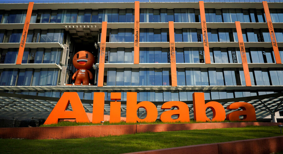 FILE PHOTO: The logo of Alibaba Group is seen at the company's headquarters in Hangzhou, Zhejiang province, China July 20, 2018. REUTERS/Aly Song/File Photo