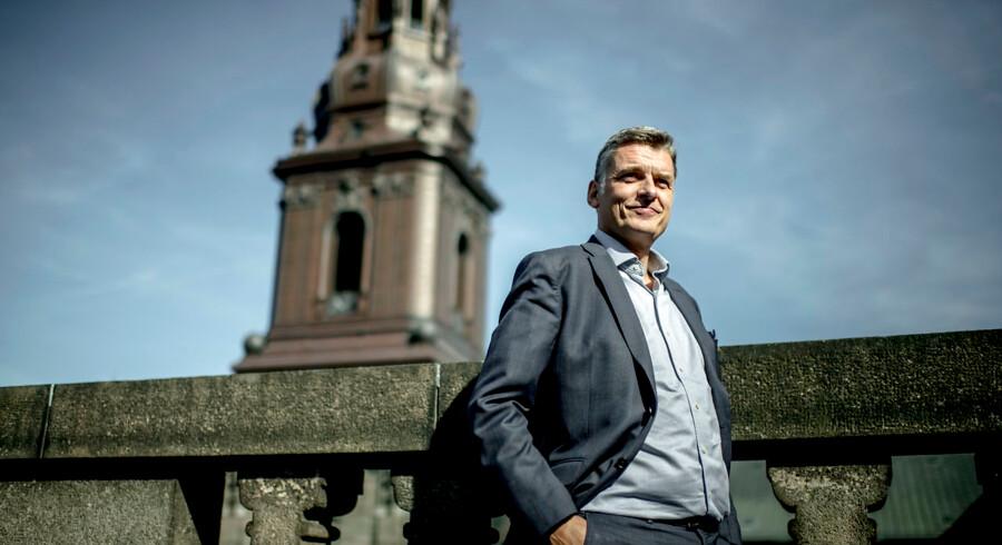 Jan E. Jørgensen (V). Fotograferet på Christiansborg.