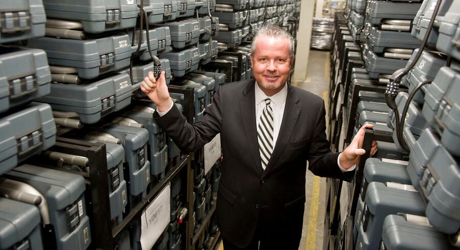 »Vi har cirka tre gange så god cybersikkerhed som i 2016,« vurderer Neal Kelley, leder af valgkommissionen i Orange County i Los Angeles.