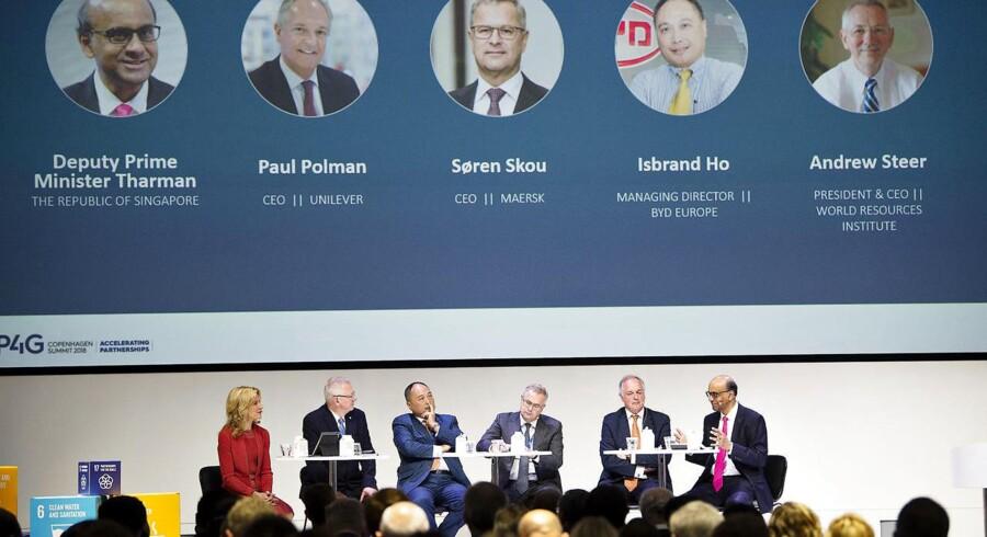 Globale ledere fra stater, virksomheder og organisationer er i weekenden samlet i København for at komme med bud på, hvordan de kan samarbejde om at nå FNs udviklingsmål.