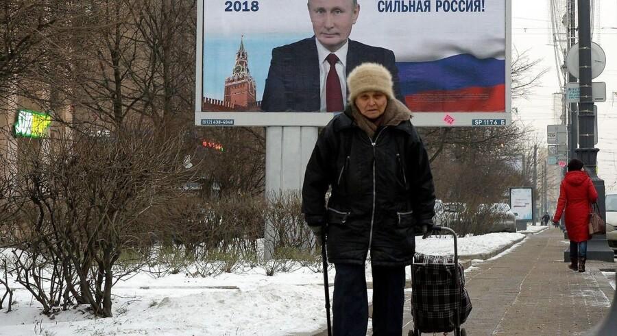 Der var tidligere økonomisk fremgang i Rusland er vendt i dette årti. Foto: Olga Maltsea/Ritzau Scanpix