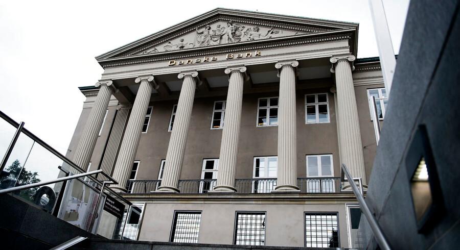 Siden årsskiftet har Danske Bank tabt 100 milliarder kroner - knap 47 procent - i markedsværdi.