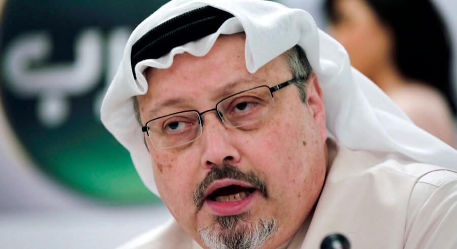 Tyrkerne skal have fundet dele af den saudi-arabiske journalist Jamal Khashoggis maltrakterede lig.