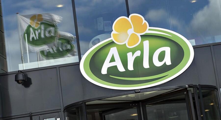 Arla er en af de danske virksomheder, der er store på det saudiske marked.