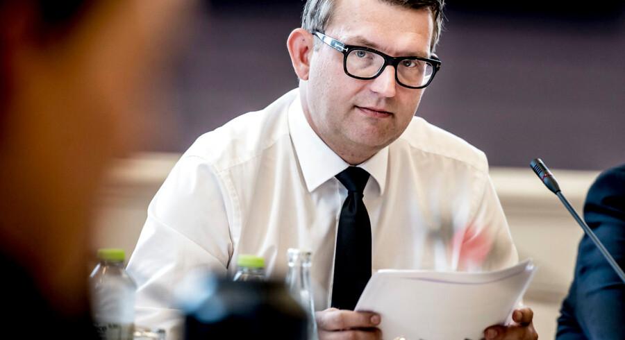 (ARKIV) Beskæftigelsesminister Troels Lund Poulsen (V).