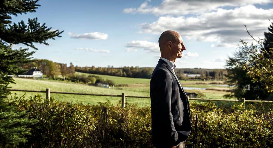 Thomas Schnegelsburg, CEO i virksomheden Stenocare, der leverer medicinsk cannabis til danske apoteker