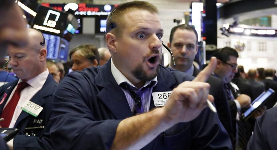 Onsdag blev lidt af et mareridt på de amerikanske aktiemarkeder med store kursfald. Der er nu ikke længere tale om bare en mindre korrektion, og gevinsterne fra foråret er væk.