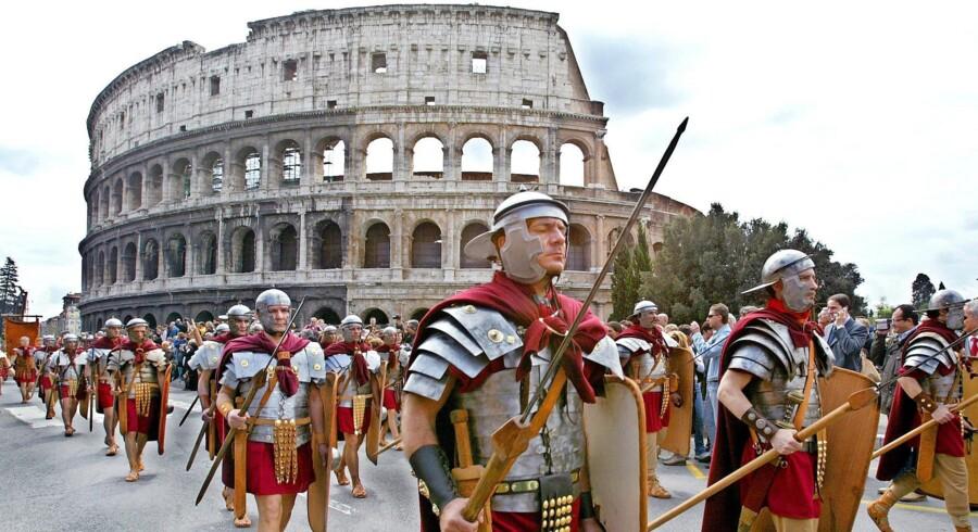 Colosseum i Rom. Foto: Andreas Solaro/AFP/Ritzau Scanpix