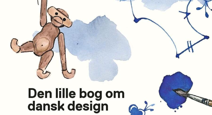 Måske en julegaveidé til de mindste i familien? 'Den lille bog om dansk design' kommer til at koste 250 kr. Foto: PR