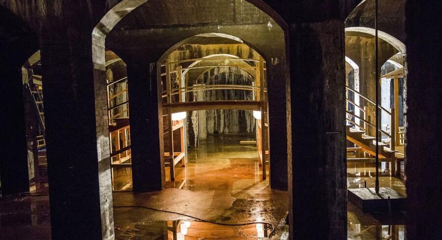 Den japanske arkitekt Sambuichi har indrettet Cisternerne.