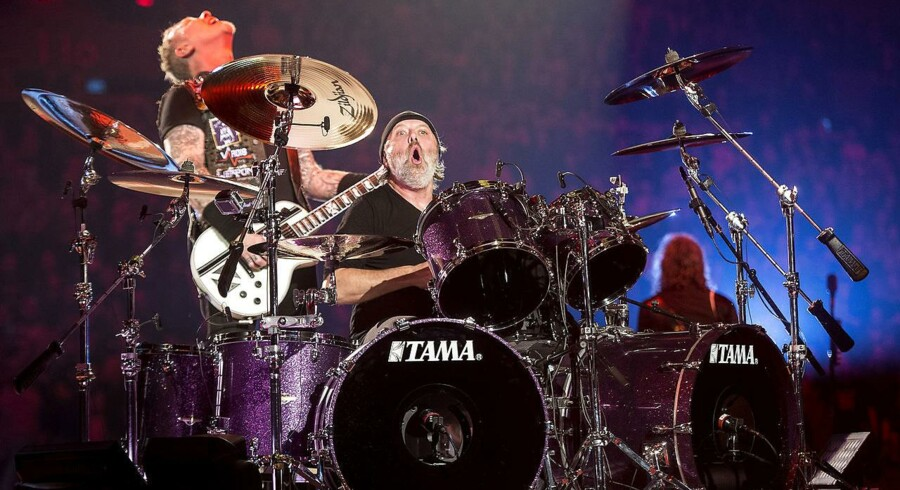 Fredag aften d. 3. februar 2017- - Metallica indvier Royal Arena med udsolgt koncert. (Foto: Nils Meilvang/Scanpix 2017)