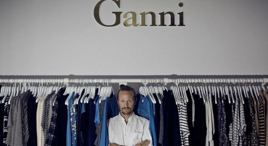 Nicolaj Reffstrup er direktør hos tøjfirmaet Ganni, der laver kvindetøj.