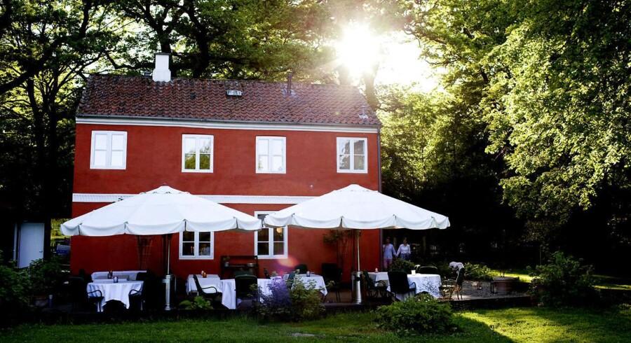 Den Røde Cottage i Klampenborg.