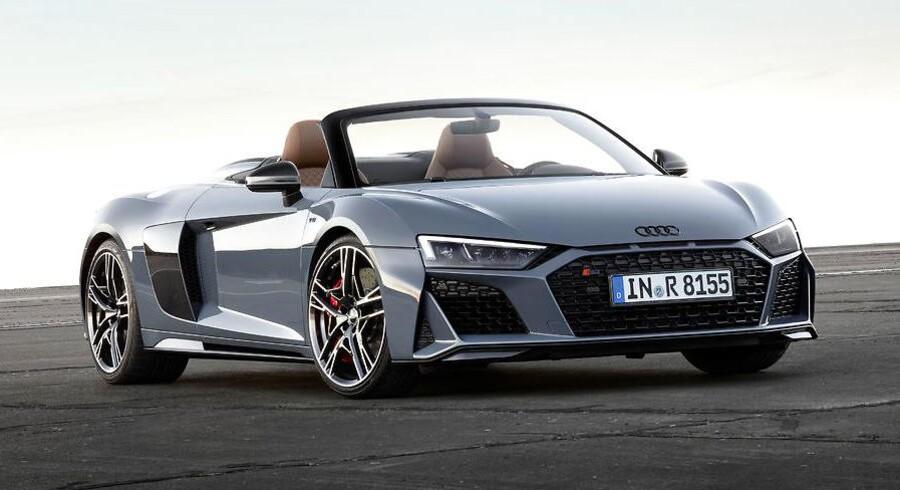 Flere kræfter og mere aggressivt design er resultatet af et facelift af Audi R8