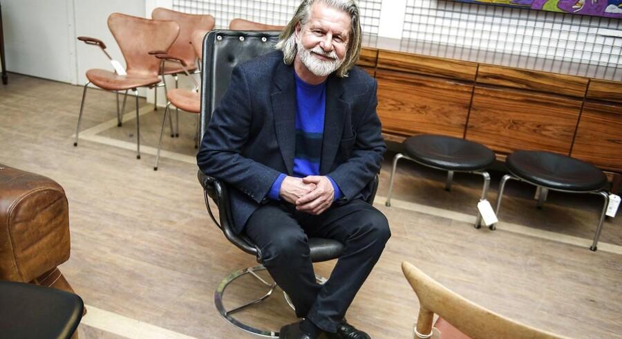 Bengt Sundstrøm ejer Lauritz.com, der gennem de senere år er blevet en stadig mindre forretning.