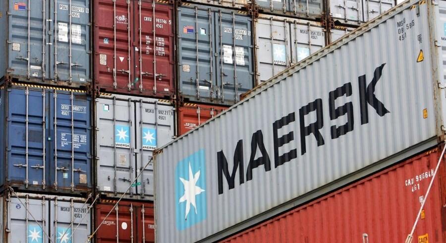 (Arkiv) 11 søfolk på et skib chartret af Maersk Line bliver holdt som gidsler i Nigeria. Det skriver Shippingwatch.