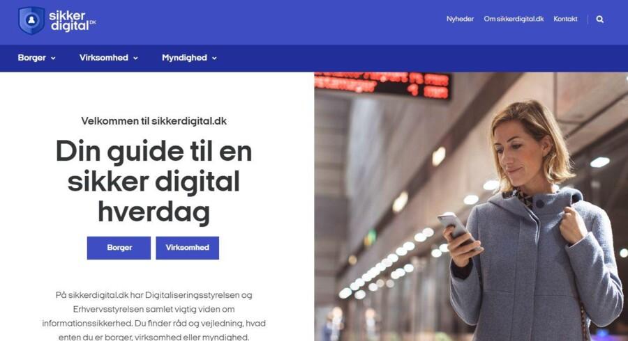 Den nye digitale sikkerhedsportal Sikkerdigital.dk er åbnet 31. oktober med råd og vejledning til alle om at forhindre hackere og hackerangreb.