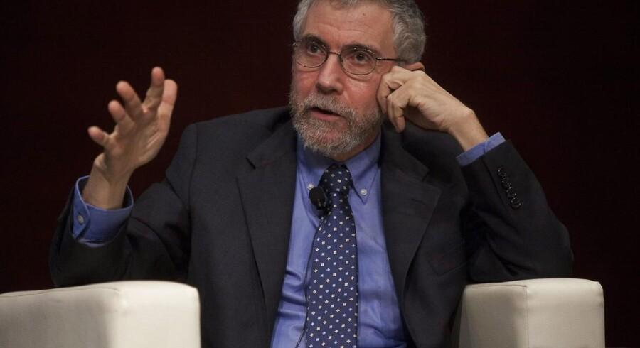 Nobelprisøkonom Paul Krugman er stærkt uenig med Det Hvide Hus' analyse af de nordiske landes økonomier. Foto: Alex Hofford/EPA/Ritzau Scanpix