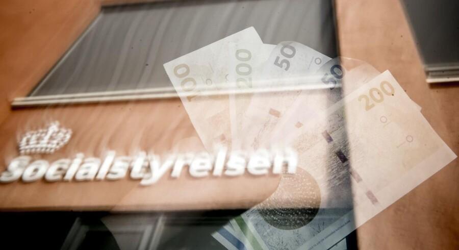 Talrige er eksemplerne på skandaler i offentlige virksomheder, men politikernes angreb og jagt på en ansvarlig fortoner sig, f.eks. i tilfældet, da en ansat i Socialstyrelsen snød for over 100 mio. kr. på trods af en tidlig advarsel. Anderledes forholder det sig, når en privat virksomhed, som Danske Bank har handlet forkert. Foto: Mads Claus Rasmussen/Ritzau Scanpix