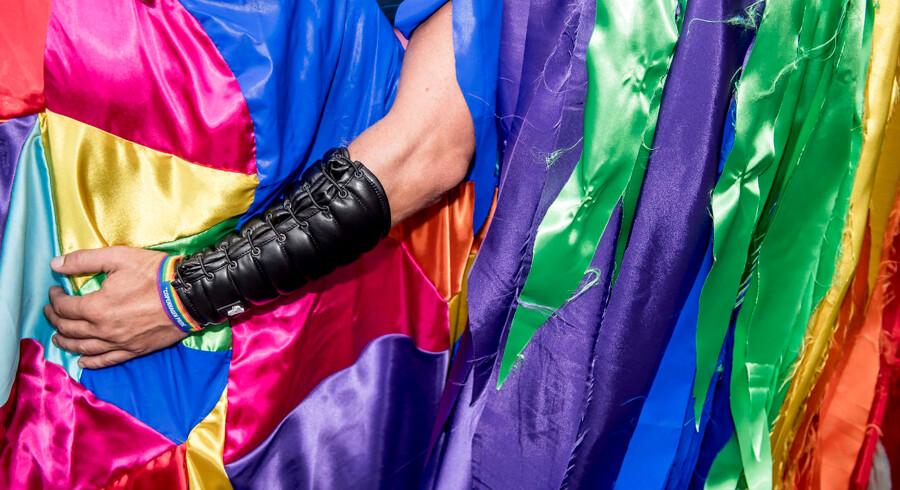 Dagens virkelighed er en regnbue af forskellige kønsidentiteter. Arkivfoto: Mads Claus Rasmussen/Ritzau Scanpix