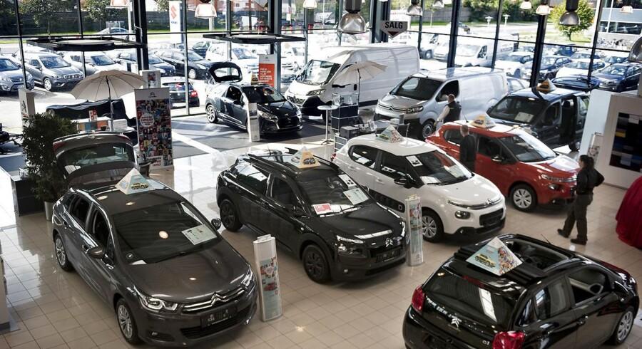 Danskerne svarer nej, når de bliver spurgt til abstrakte skattelettelser, men ja, når de bliver spurgt konkret til lavere skat på biler. Arkivfoto: Liselotte Sabroe/Ritzau Scanpix