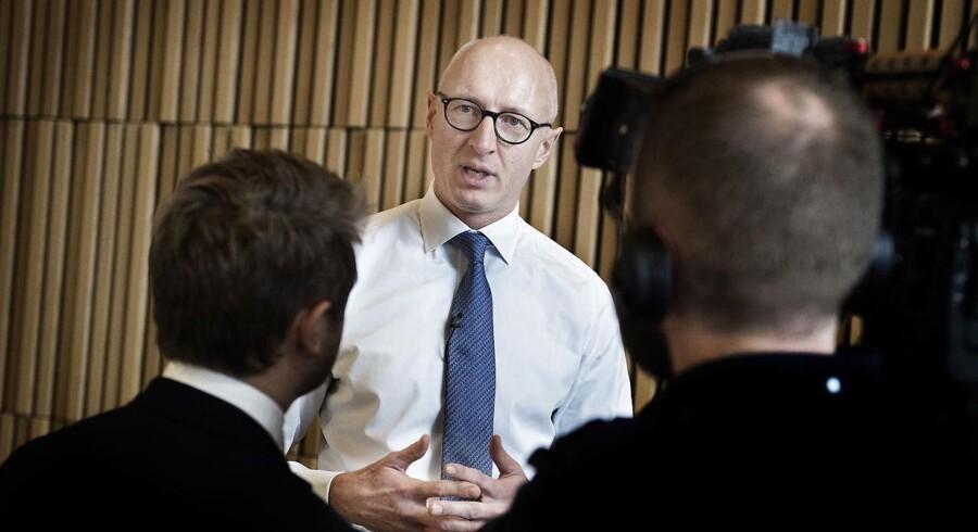 Novo-topchef Lars Fruergaard Jørgensen blæser til kamp mod unødigt bureaukrati. Foto: Liselotte Sabroe