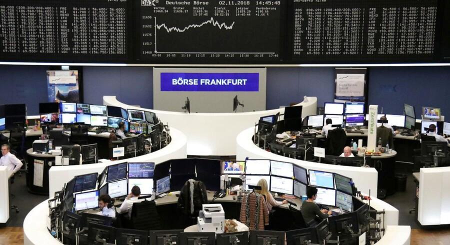 Danske Abacus Medicine har udskydt sin notering på børsen i Frankfurt på grund af den seneste markedsuro. Arkivfoto: Reuters/Ritzau Scanpix