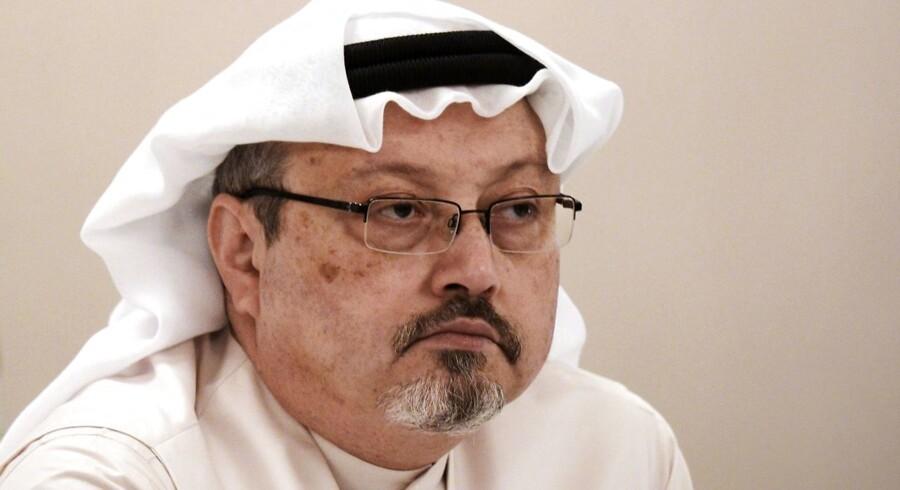 Den myrdede saudiske journalish Jamal Khashoggi.