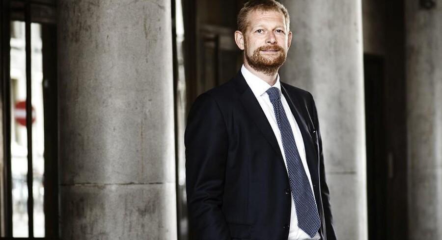PFAs koncernfinansdirektør, Anders Damgaard, har glædet sig over regnskabstallene for årets tredje kvartal. Afkastet er stukket af og er tidoblet i forhold årets første seks måneder.