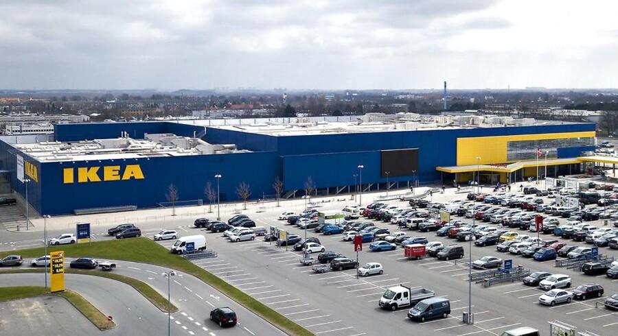 Ikea Taastrup og kædens fire andre varehuse øgede alle omsætningen i regnskabsåret 2017/2018.