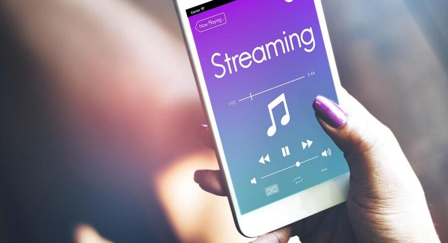 Der bliver streamet musik i Danmark som aldrig før, men størst stigning har de musiktjenester, som man ikke skal betale for. Arkivfoto: Iris/Scanpix
