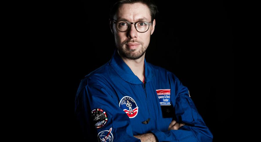 Thomas Conradsen har været i astronaut-træning på Rocket & Space Center Huntsville, Alabama, USA.