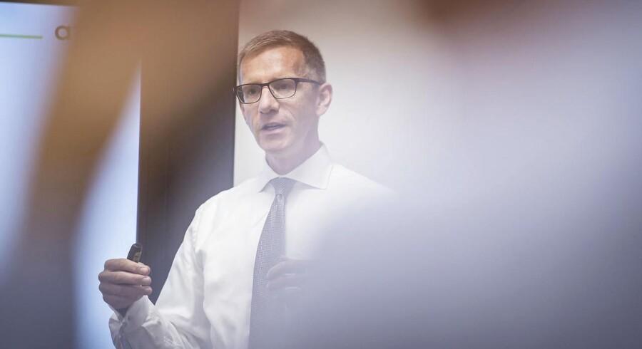 Direktør for ATP Christian Hyldahl vidste inden investeringen i TDC, at det australske investeringsselskab Macqaurie ikke var blandt branchens duksedrenge. Foto: Mads Claus Rasmussen/Ritzau Scanpix