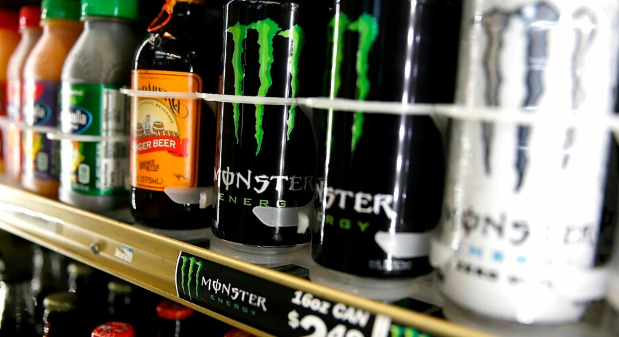 Til april kan Monster få en stor konkurrent på markedet for energidrik.